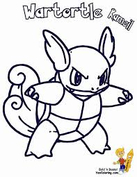 printable pokemon wartortle coloring pages for kids and free to