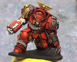 from the warp how to paint blood angels red armour