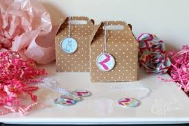 polka dot wrapping paper target favor tags shoes