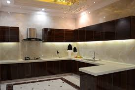 Interior Decoration Kitchen Modern Minimalist Villa Kitchen Interior Design 3d House