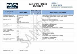 safety management plan template free template