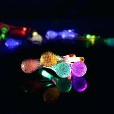 blue solar string lights outdoor solar lantern string lights mini
