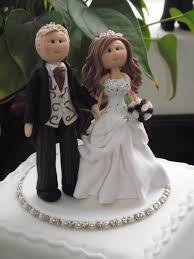 personalised wedding cake topper bride groom on a base deposit