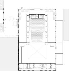 Theater Floor Plan Glazed Theatre Occupies Former Dockland Buildings