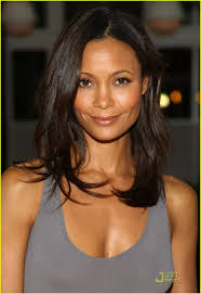naturally curly medium length hairstyles 20 best thandie newton images on pinterest thandie newton