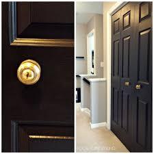 painted interior doors elegant home design