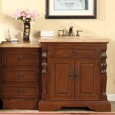 accord 55 5 inch single sink bathroom vanity roman vein cut
