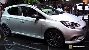 opel chicago 2017 opel corsa opc 1 0 115hp exterior and interior walkaround