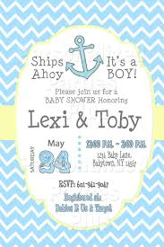 anchor baby shower anchor baby shower invitation