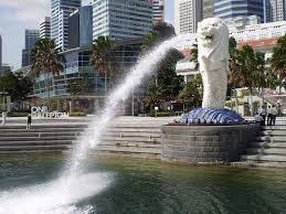 singapore lion lion statue singapore picture of india singapore