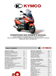 en downtown owners manual tire motor oil
