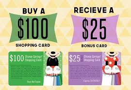 buy a gift card world of disney offering free 25 gift card promotion starting july