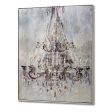 Painting Of Chandelier Marvelous Design Chandelier Wall Art Winsome Chandelier Wrapped