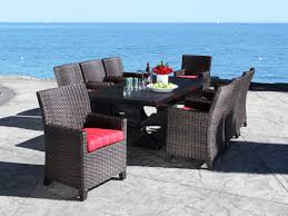 Wicker Dining Patio Furniture Resin Wicker Dining Tropicraft Patio Furniture