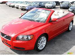 volvo convertible 2007 passion red volvo c70 t5 convertible 19263029 gtcarlot com