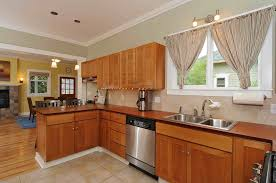 wooden kitchen countertops pros cons white mini pendant lighting