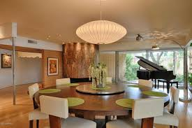 Modern Dining Room Chandeliers Contemporary Dining Room With Hardwood Floors U0026 Ceiling Fan In