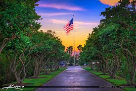 Florida Flag History Veterans Memorial Island Sanctuary America Flag Vero Beach Florida