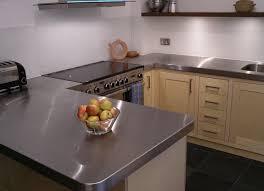 stainless steel kitchen cabinet doors uk custom built birch ply and stainless steel kitchen by
