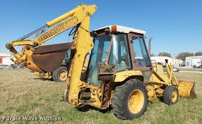 1987 case 580k backhoe item l3298 sold december 1 const