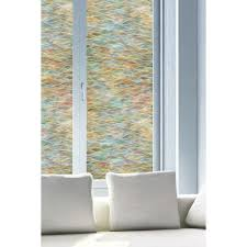 Interior Window Tinting Home Artscape 24 In X 36 In Water Colors Decorative Window Film 01