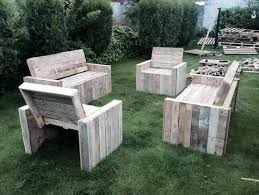 Make Your Own Wood Patio Chairs by Diy Wood Pallet Patio Furniture