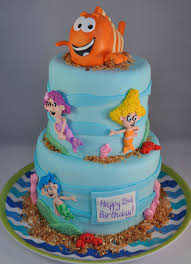 bubble guppies u2013 piper cakes