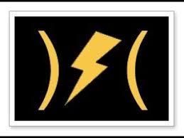 chrysler 300 dash warning lights lightning bolt dodge lightening bolt dash light youtube