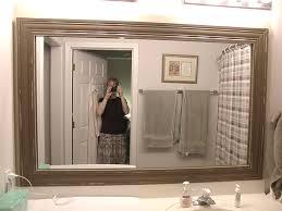 framed bathroom mirrors ideas best 20 frame bathroom mirrors ideas on framed mirror