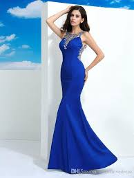 2017 new design silver blush blue prom dresses jewel backless