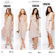 bridesmaid dresses asos asos bridesmaid dresses has anyone ordered weddingbee