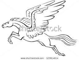 horse wings stock images royalty free images u0026 vectors