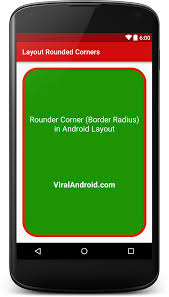 android layout make rounded corners in android layout viral android tutorials