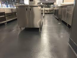 Commercial Kitchen Flooring Options Urethane Cement Composition Flooring Food U0026 Beverage Kitchen