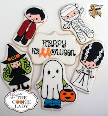 lovely halloween cookie set decorated cookies for inspiration
