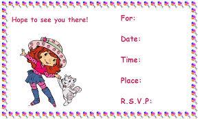 printable birthday invitations for girls u2013 bagvania free printable