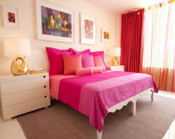 Curtain Colors Inspiration Magenta Bed Sheet With Coral Wall Color For Exclusive