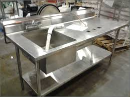stainless steel countertop with sink commercial stainless steel sink and countertop sink ideas