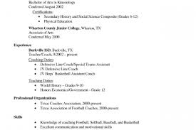 Professional Affiliations For Resume Examples by Coach Resume Example High Basketball Coach Resume Examples