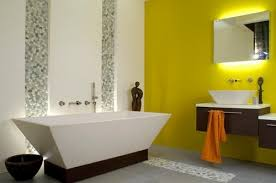 creative colours for bathrooms in latest home interior design with