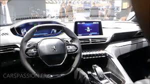 peugeot 3008 2016 interior nouveau peugeot 3008 gt line icockpit youtube