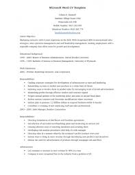 Office 2007 Resume Template Resume Template Microsoft Word 2007 Step Guide Intended For 19