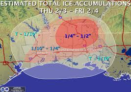 Lake Charles Louisiana Map by Significant Weather Events