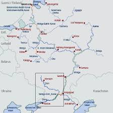 map of europe and russia rivers river don wolga don canal russia european waterways eu