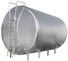design of milk storage tank horizontal storage tank dairy processing paul mueller company