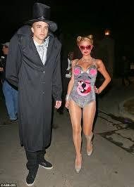 Miley Cyrus Halloween Costumes Paris Hilton Splashes 5k Halloween Costumes Including Twerking