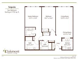 oakmont retirement community concord floor plans