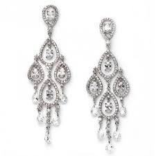 Bridal Chandelier Earrings Dramatic Swarovski Crystal Bridal Chandelier Earring