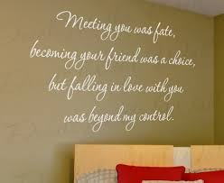 wedding quotes about family meeting you was fate loving beyond my