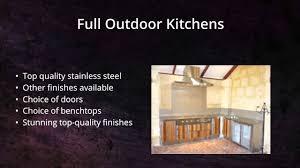 Outdoor Kitchen Cabinets Perth Infresco Alfresco Kitchens Perth Wa Youtube